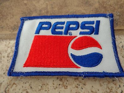 Pepsi Cola   Embroidery Patch Advertising, Collectors Nice!