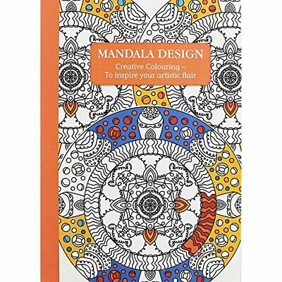 Mandala Design - Creative Colouring by The Gifted Stationery Company Book The