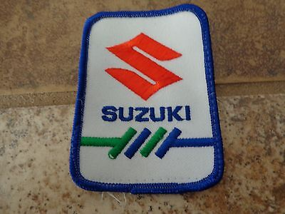Suzuki Automobiles  Embroidery Patch Advertising, Collectors Nice!