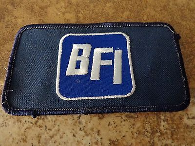 BFI  Embroidery Patch Advertising, Collectors Nice!