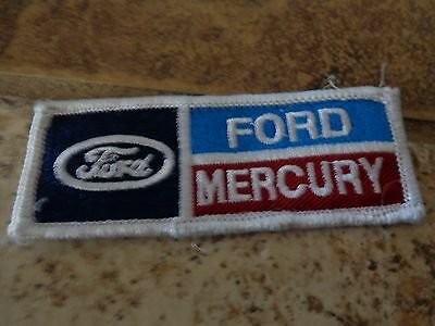 Ford Mercury  Embroidery Patch Advertising, Collectors Nice!