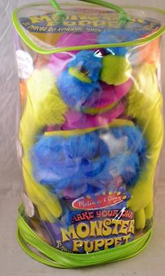 Melissa and Doug Deluxe Fuzzy Make-Your-Own Monster Puppet