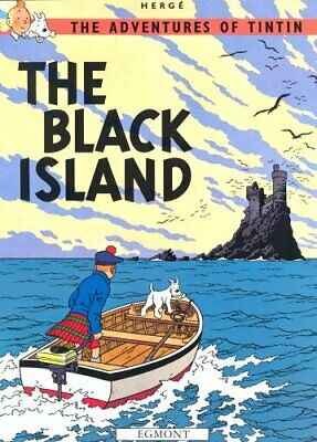 The Black Island (The Adventures of Tintin) by Herg� Paperback Book The Cheap