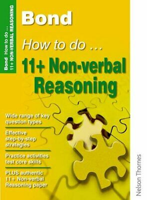 Bond How to do 11+ Non-Verbal Reasoning New Edi... by Primrose, Alison Paperback