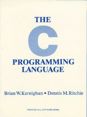 The C Programming Language (Prentice-Hall sof... by Ritchie, Dennis M. Paperback