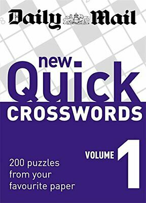 Daily Mail: New Quick Crosswords 1: 200 Puzzles from ... by Daily Mail Paperback