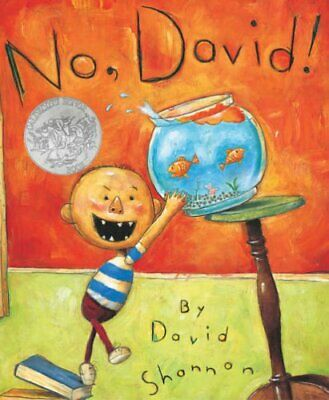No, David! by Shannon, David Paperback Book The Cheap Fast Free Post