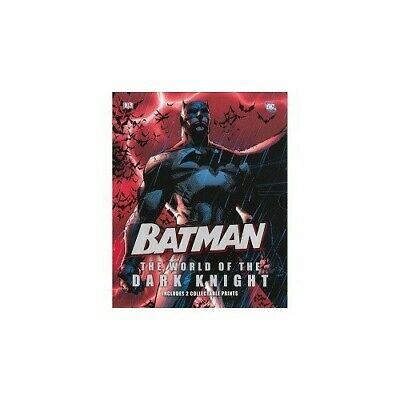 Batman: The World of the Dark Knight with 2 Collectable Prints Book The Cheap
