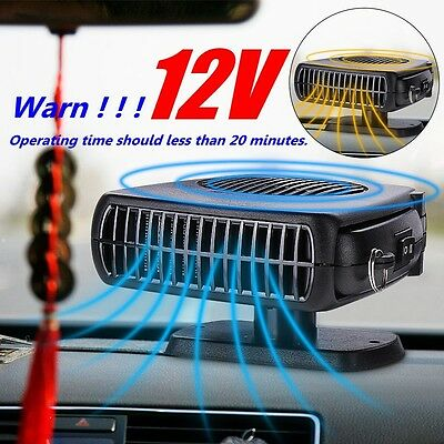 Portable 12V 2in1 Car Vehicle Heater Heating Cooling Fan Defroster Demister ZX2