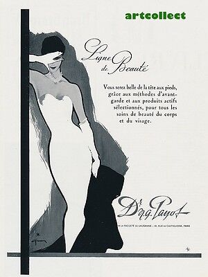 Original Vintage French Ad (1956): Dr N G Payot