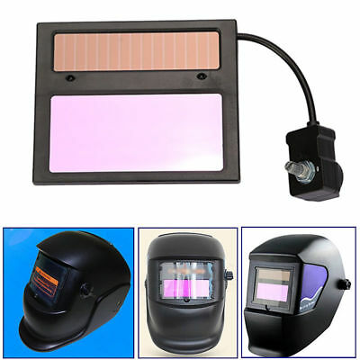 Solar Power Auto Darkening Welding Helmet Lens Mask Goggles Automation Filter