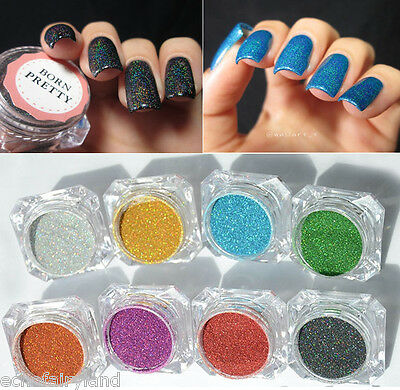 Holo Effect Nail Holographic Dust Mermaid Trend Laser Glitter Powder Pigment