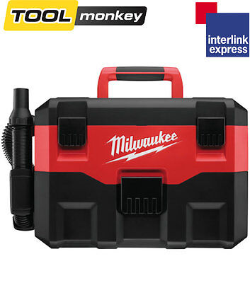 Milwaukee M18VC 18v Cordless Wet Dry Vac Vacuum Cleaner * Bare Unit *