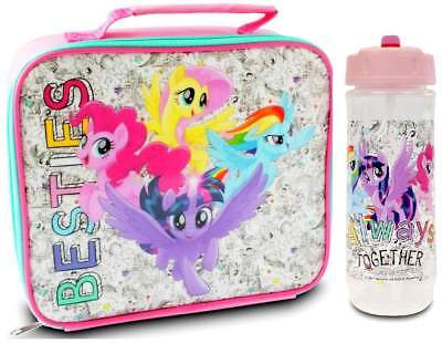 My Little Pony 'Friends Forever' Lunch Bag/Box and Flip 'n' Flow Bottle (590ml)