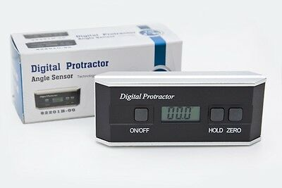 DML Digital Inclinometer Protractor Magnetic Bevel Box Angle Finder Gauge