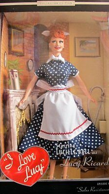 Barbie I Love Lucy Sales Resistance Doll Episode 45 - Collector Edition 2004