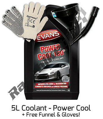 Evans Power Cool 180 Waterless Coolant 5 Litre Radiator Car Cooling