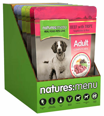 Natures Menu Complete Wet Dog Food Multipack 8 Pouches x 300g