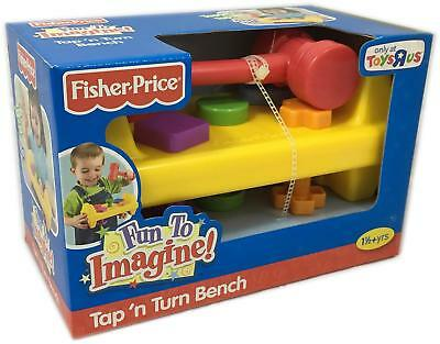 Fisher Price Fun to Imagine Tap'n Turn Bench