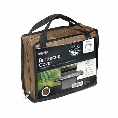 Gardman 35772 Premium Heavy Duty Outdoor BBQ Barbecue Cover Large - Brown