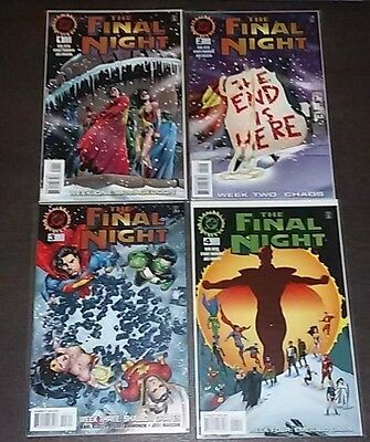 The Final Night #1-4 ~ Written by Karl Kesel / 4 ISSUE LOT~ 1996 (9.0) WH