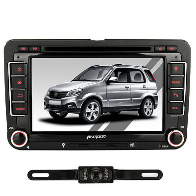 "7"" 2Din In Dash Autoradio DVD Player GPS Bluetooth USB/TF FM Aux-IN DVB-T+KAMERA"