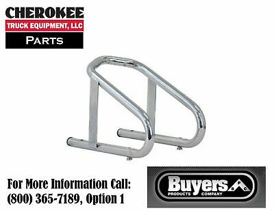 Buyers Products WC100609, Chrome Motorcycle Wheel Chock