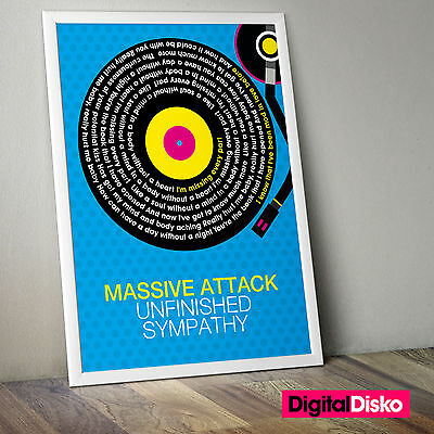 Massive Attack - Unfinished Sympathy Unframed Poster Print. - 2 Sizes Available
