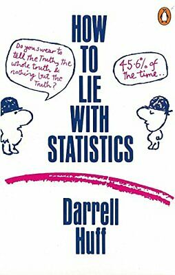 How to Lie with Statistics (Penguin Business) by Huff, Darrell Paperback Book