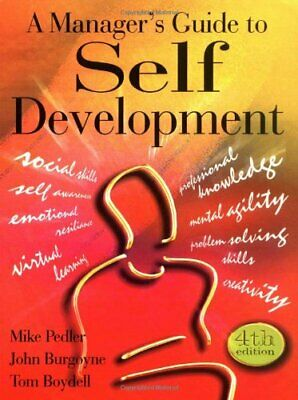 A Manager's Guide to Self-development by Boydell, Tom Paperback Book The Cheap