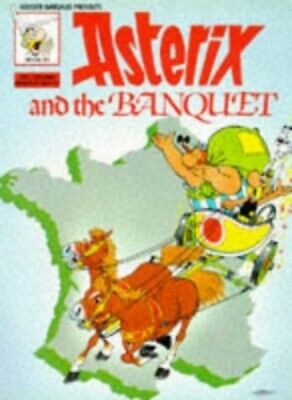 Asterix and the Banquet (Classic Asterix paperbacks), Uderzo Hardback Book The