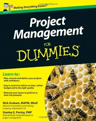 Project Management For Dummies (UK Edition) by Portny, Stanley E. Paperback The