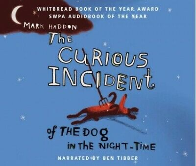 The Curious Incident of the Dog in the Night-time by Mark Haddon CD-Audio Book
