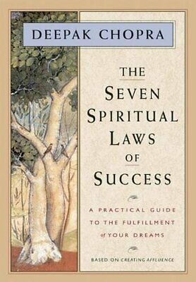 The Seven Spiritual Laws of Success by Chopra, Deepak Paperback Book The Cheap