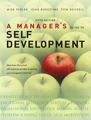 A Manager's Guide to Self Development by Boydell, Tom Paperback Book The Cheap