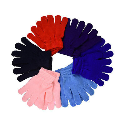 New Kids Gloves Cute Soft Magic Gloves Outdoor Winter Accessories Cute Colors