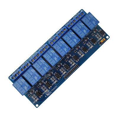 8-Channel 12V Relay Shield Module for Arduino UNO 2560 1280 ARM PIC AVR STM UK