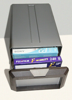 Contenitore porta cassetta video VHS / Beta - Posso Media Box