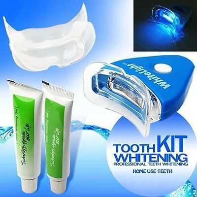 Home Kit White Light Teeth Whitening Gel Oral Care Cleaner Tooth Professional
