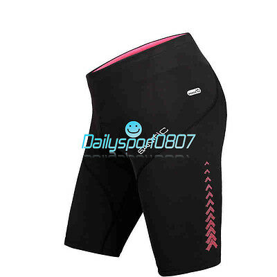 2016 Women's Bike Bicycle Cycling Breathable Shorts Pants 4D Padded Tights DS