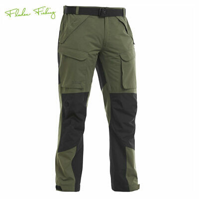 Fladen Authentic Trousers Outdoorhose Green/Black wasserdicht Angelhose, Jagd