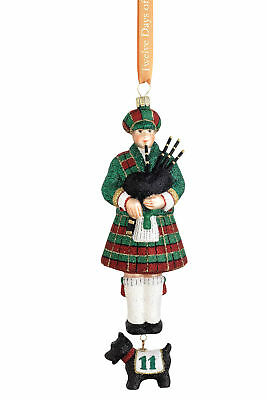 Reed & Barton Eleven Pipers Piping Ornament