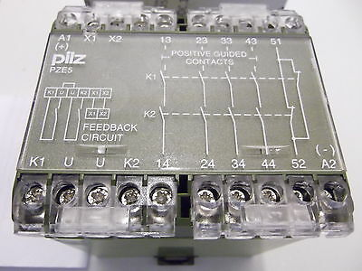 PILZ  474910  PZE5 SAFETY RELAY  Contact Expansions PNOZ X