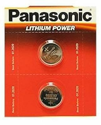 Pack Of 2 Panasonic CR2032 Lithium Coin Cell 3V Battery ElectronicToys Remote