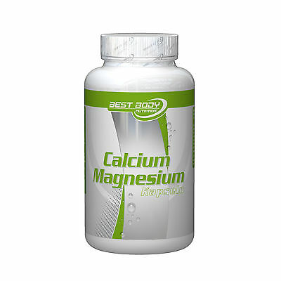(10,99 €/1kg) Best Body Nutrition Calcium Magnesium (100 Kapseln)