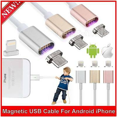 Magnetic dati USB Charger Collegare fulmini per iPhone6 Plus 6S 5S iPad Androi