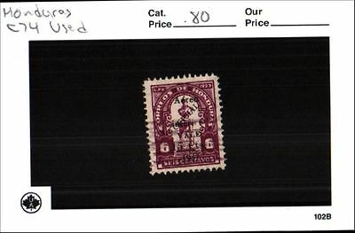 Honduras stamp lot Scott C74 Used Low Combined Shipping