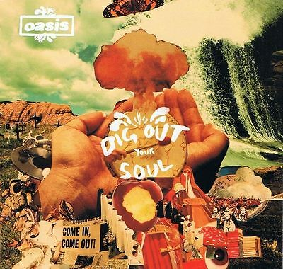 OASIS Dig Out Your Soul CD Album Big Brother 2008