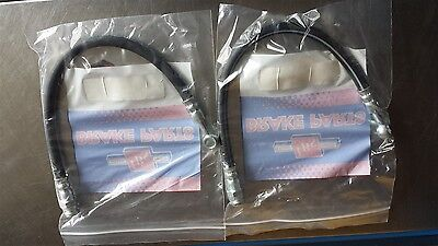 Chrysler Valiant Front Brake Hoses .. Ve Vf Vg Vh Ch With Disc Brakes .. H997
