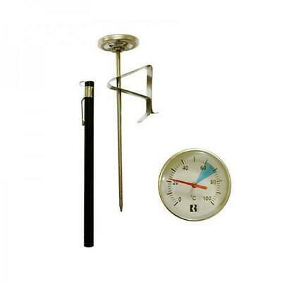 Thermometer, Milk Frothing With Clip, 135mm Probe, Kitchen / Restaurant / Cafe